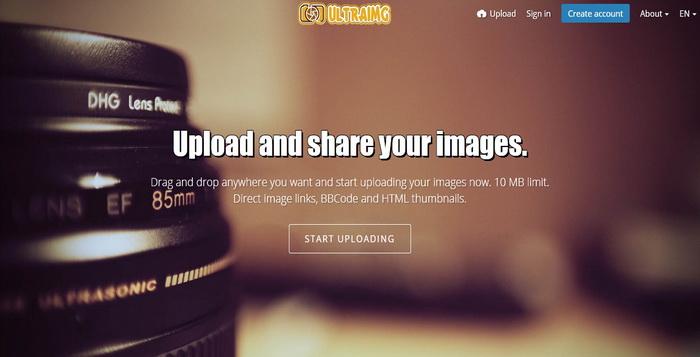 10 Alternatif Terbaik Untuk Upload Foto Selain UltraIMG