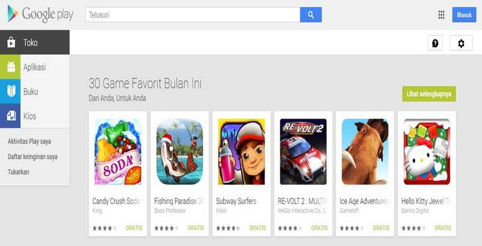 15 Situs Web Download Aplikasi Android Seperti Google Play