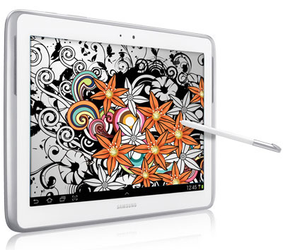 Samsung Galaxy Note 10.1 White_A