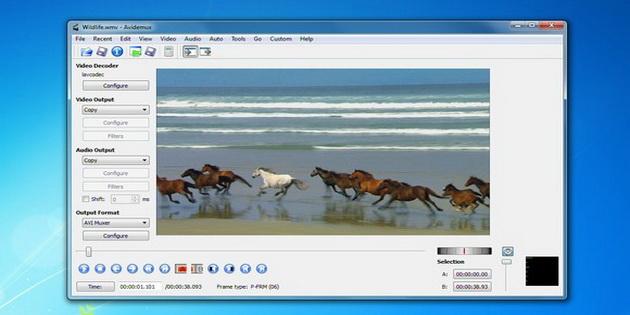 Software Video Avidemux