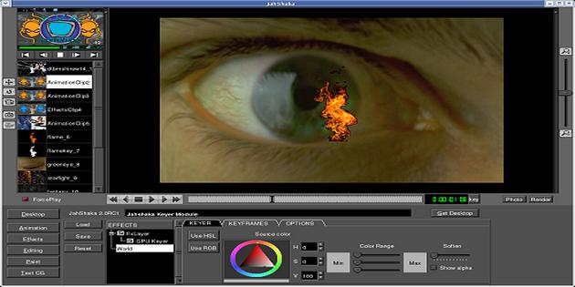 Software Video jahshaka