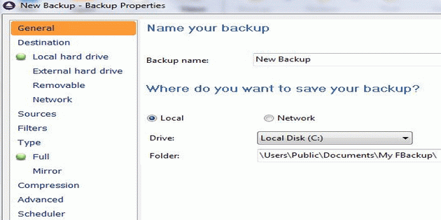 Cara Melakukan Backup Data Secara Mudah dengan Software FBackup_B
