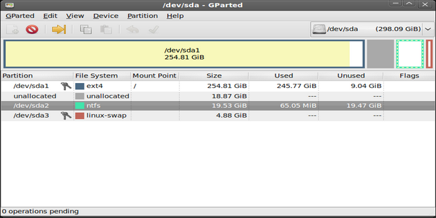 Download Software Partisi Hardisk Gratis Terbaru GParted_4