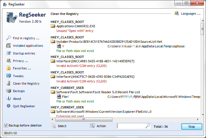 Software RegSeeker_C