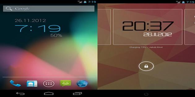 Aplikasi Widget Jam dan Kalendar Untuk Android clockq