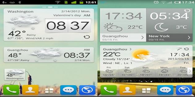 Aplikasi Widget Ramalan Cuaca Android go-weather-forecast-and-widgets