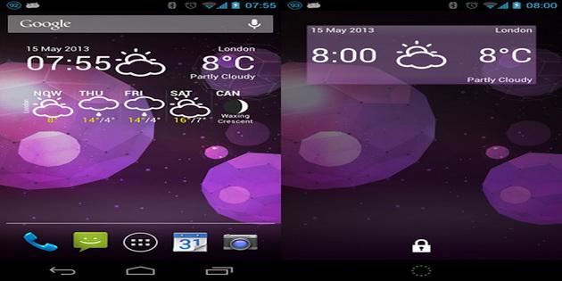 Aplikasi Widget Ramalan Cuaca Android weather-forecast-widget