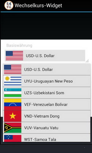 Download Gratis Aplikasi Saham dan Forex Android Exchange Rate Widget