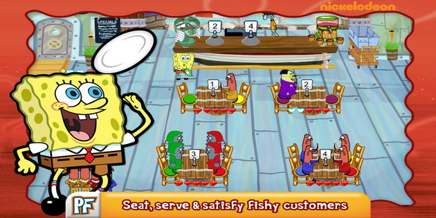 Download Gratis Games Android SpongeBob Diner Dash_B1