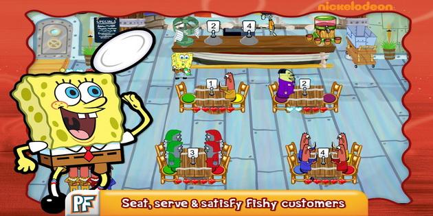 Download Gratis Games Android SpongeBob Diner Dash_B1