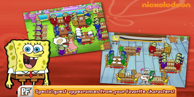 Download Gratis Games Android SpongeBob Diner Dash_C1