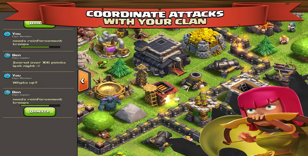 02Download Gratis Games Strategi Android Clash of Clan