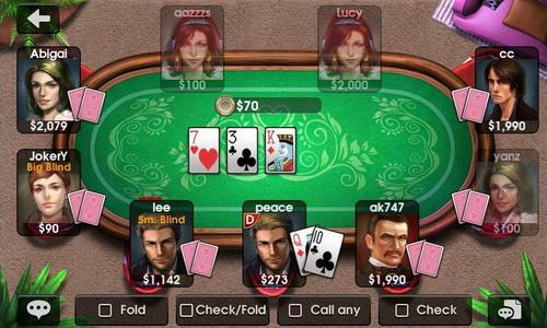 01Bermain Game Poker Terbaik Untuk Smartphone Download Android DH Texas Poker