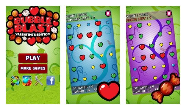02Aplikasi Android Bubble Blast Valentine