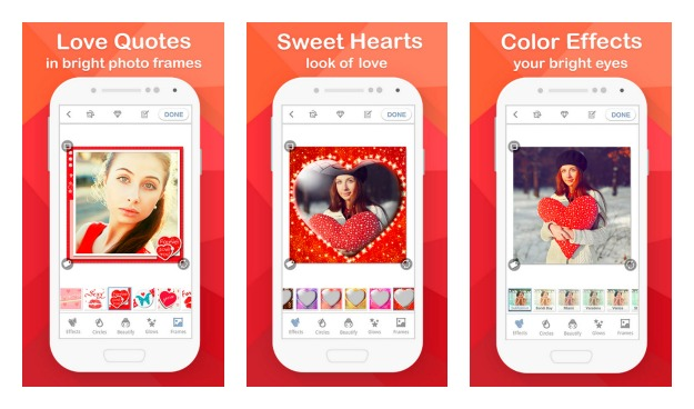 09Aplikasi Android Photo Editor Effects Frames Valentine