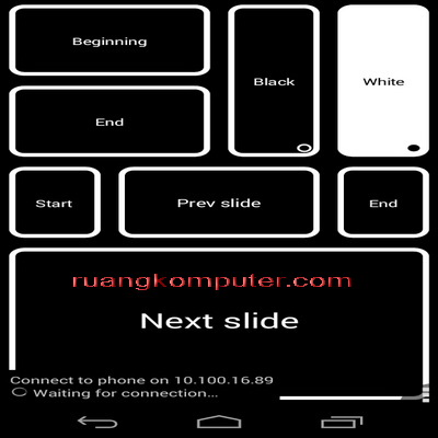 Android Phone sebagai Joystick untuk PC Mouse Dengan DroidPad_E