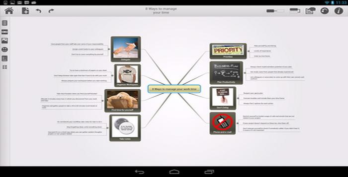 Aplikasi Presentasi Android Mindomo Untuk Rapat_A