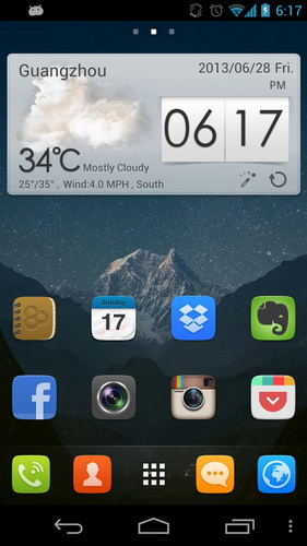 Aplikasi Theme Launcher Memperindah Wallpaper Layar Android_A