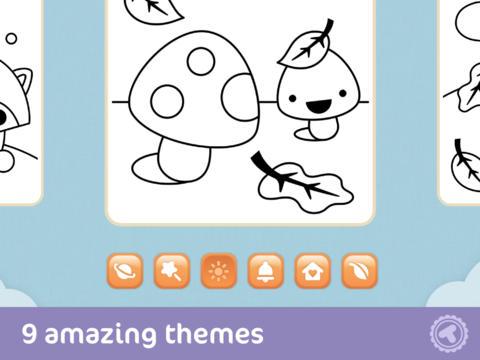 Aplikasi iPhone Toonia Buku Mewarnai Untuk Anak_B