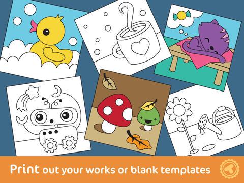 Aplikasi iPhone Toonia Buku Mewarnai Untuk Anak_C