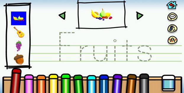Belajar Bahasa Inggris Untuk Anak Dengan Baby Writer Android_B