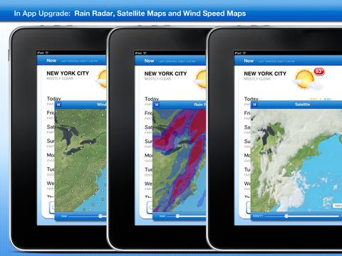 Celsius Free Ramalan Perkiraan Cuaca dan Suhu iPhone iPad_D