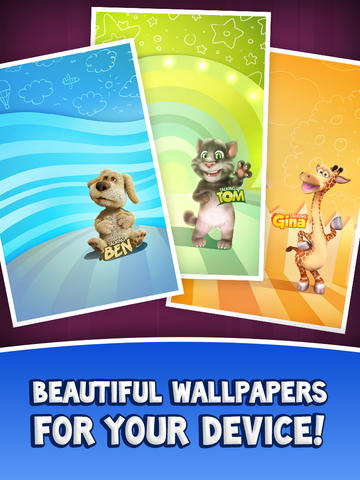 Download Game Talking Friends Cartoons_D