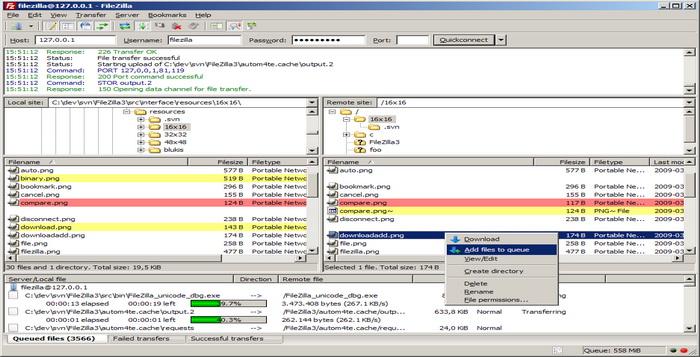 Lima Software FTP Terbaik Dan Gratis Untuk Sistem Windows