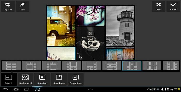 Membuat Variasi Foto Indah Aplikasi Edit Foto Pixlr Express_A