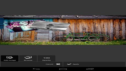 Membuat Variasi Foto Indah Aplikasi Edit Foto Pixlr Express_D