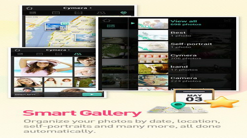 Mengambil Foto Aplikasi Kamera Android Cymera_A
