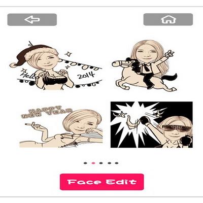 MomentCam iPhone dan Android Membuat Karikatur Dari Foto_D