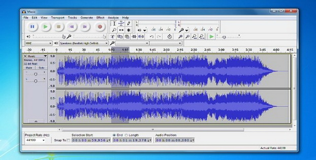 Software Editor Audio Gratis Untuk Windows Audacity