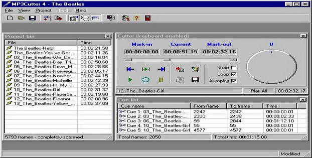 Software Editor Audio Gratis Untuk Windows MP3Cutter