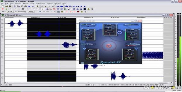 Software Editor Audio Gratis Untuk Windows Wavosaur
