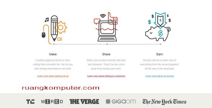 Website Online Top Untuk Menjual Produk Digital Gumroad_A