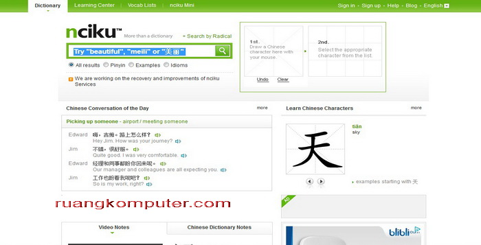Website Untuk Belajar Bahasa Cina Online Gratis_D
