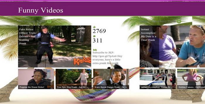 4 Aplikasi Gratis Untuk Menonton Video Lucu Pada Windows 8_D