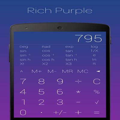 Aplikasi Calcoid Kalkulator Mate Matika Gratis Android_B