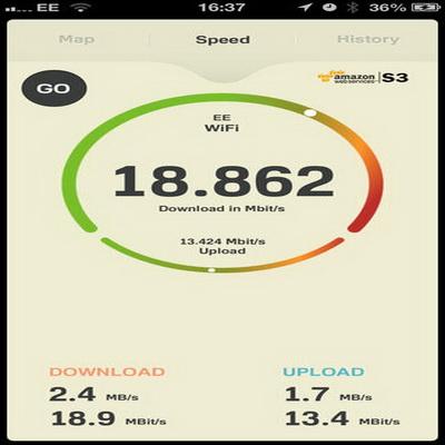 Aplikasi Gratis iPhone Untuk Uji Kecepatan Bandwith Internet_D