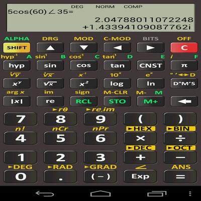 Aplikasi Kalkulator Scientific Atau Mate Matika Untuk Android_C