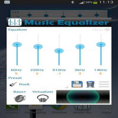 sistem untuk aplikasi music equalizer android dapat digunakan untuk