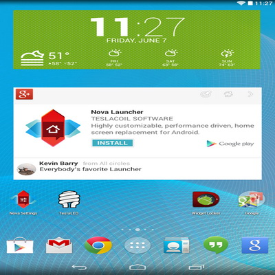 Daftar Launcher Theme Terbaik Gratis Mudah Android_B