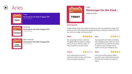 Dapatkan Gratis Ramalan Horoskop Anda di Windows 8_B