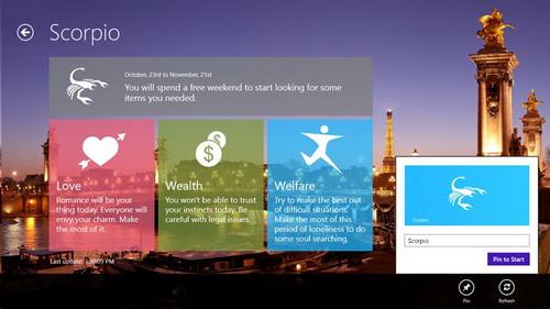 Dapatkan Gratis Ramalan Horoskop Anda di Windows 8_D1
