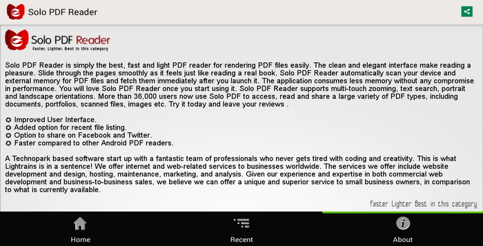 pdf file reader for android