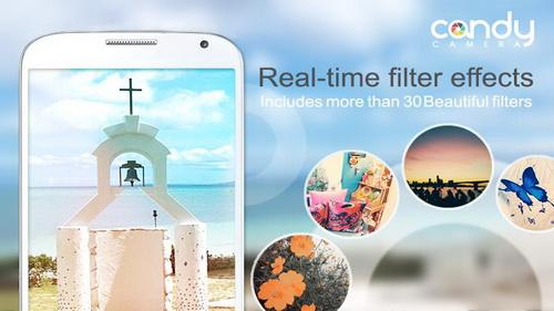 Membuat Foto Lebih Indah Dengan Candy Camera Android_A