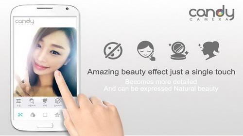 Membuat Foto Lebih Indah Dengan Candy Camera Android_C