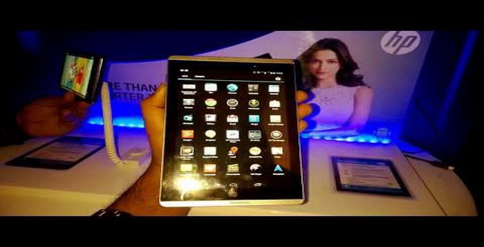 Review Spesifikasi Android HP Slate 7 Voice Tablet