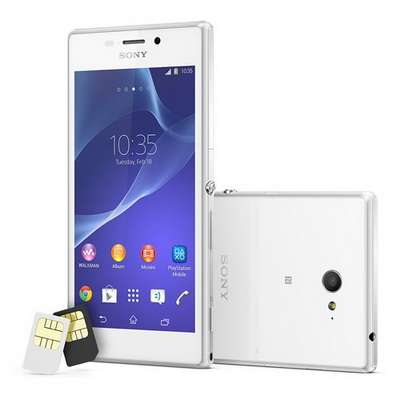 Review Spesifikasi Android Sony Xperia M2 Dual SIM_D